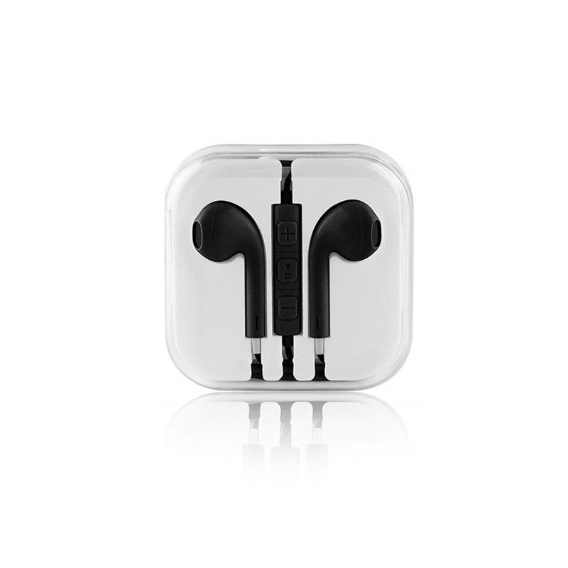 Wired Earphones Super Bass 3.5mm black