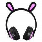 Wireless Bluetooth Headphones Head mounted Stereo Bass Wireless Bluetooth Headset Rabbit Ears