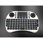 Wireless Keyboard Mini 2.4G Wireless Mini Keyboard with Touchpad for PC Android Smart TV BOX KY white
