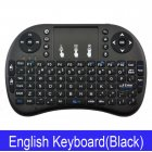 Wireless Keyboard Mini 2 4Ghz Wireless Mini Keyboard with Touchpad for PC Android Smart TV BOX KY Black battery