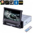 Buy One DIN Universal Car DVD Player - 7 Inch Touch Screen, Detachable Display, GPS, Bluetooth, DVD, Android OS, Quad-Core CPU, WiFi