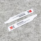Wltoys XK K110 RC Helicopter Rotor Group Main Blade for XK.2.K100.005 white