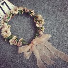 Women Flower Hairband Floral Crown