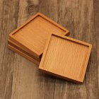 Wooden Heat Insulation Placemat Tea Coasters Cup Holder Mat Pads for Coffee Drinks
