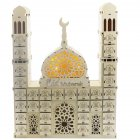 Wooden Ramadan Countdown Calendar DIY Crafts Pendants Eid Mubarak Accessories eid mubarak
