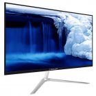 X22 Air V2 White 21.5 inch Computer Intel Quad Core J3160 128G SSD 4G DDR3 RAM Memory Smart TV Silver_EU Plug