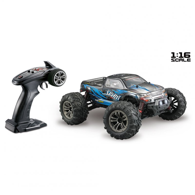 XINLEHONG TOYS RC Car 9135 2.4G 1/16 4WD 36km/h Electric RTR High Speed SUV Vehicle Model Radio Remote Control Toy blue