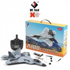 Xk A180 F22 Three Channel Camera 3d / 6g Gyroscope Fixed Wing Glider Model Toy gray