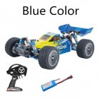 Xlf F16 Rtr 1/14 2.4ghz 4wd 60km/h Metal Chassis Rc  Car Full Proportional Vehicles Model Blue+extra Tires blue