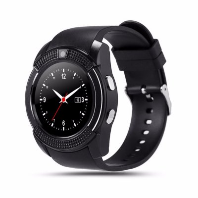 Y1 Bluetooth Smart Watch With Touch Screen Camera / SIM Card Slot Waterproof Smart Watch black