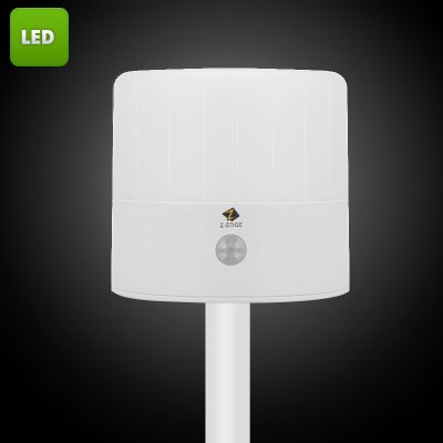 Z-Edge LED Lamp - 43 Lumen, IP54, PIR Sensor, 3 Modes