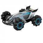 Z109S 2.4G 4WD RC Stunt Car Watch Gesture Sensor Control Spray Toys for Kid Gift with LED Light gray