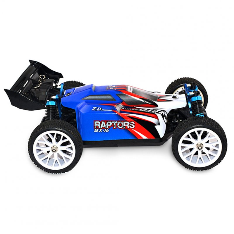 ZD Racing  16421-V2  1:16 4WD 9051 BX-16 Brushless Off-road Car blue