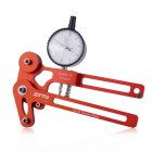 ZTTO Bicycle Tension Meter Electronic Precision Spokes Tension Checker Bike Spokes Tensioner  Mechanical meter  red