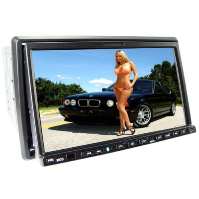 7-inch GPS Car DVD Player with DVB-T (2-DIN)