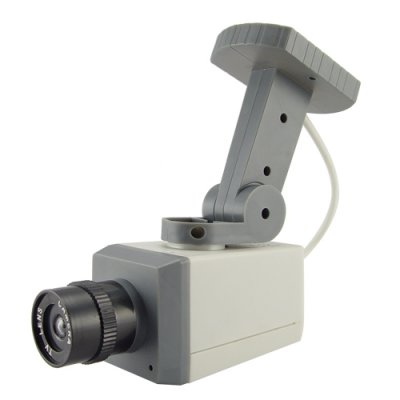Dummy Security Camera with Motion Detector and LED Light
