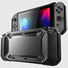 for Nintend Switch Case Rugged Protective Hard Shell black