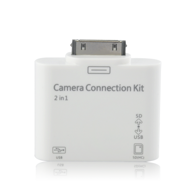 2-in-1 Camera Connection Kit for iPad