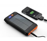 Solar backup battery for iPhone