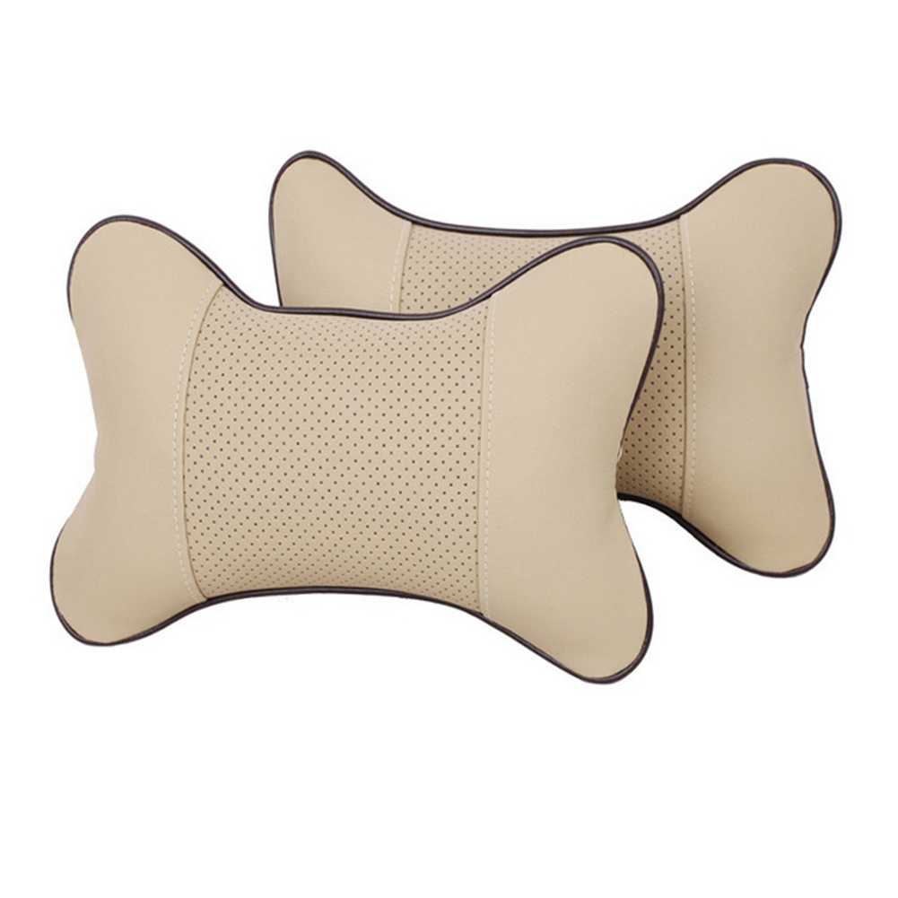 Car Seat PU Leather Pillow