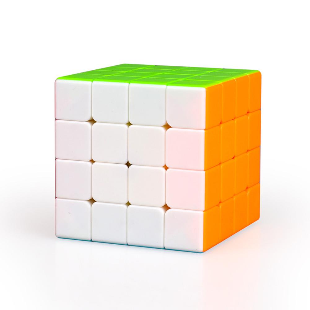 Magic cube QiYi Qiyuan S 4x4 Stickerless Bright Magic Cube MoFangGe MFG Qiyuan S Color 4X4X4 Speed Cube colorful