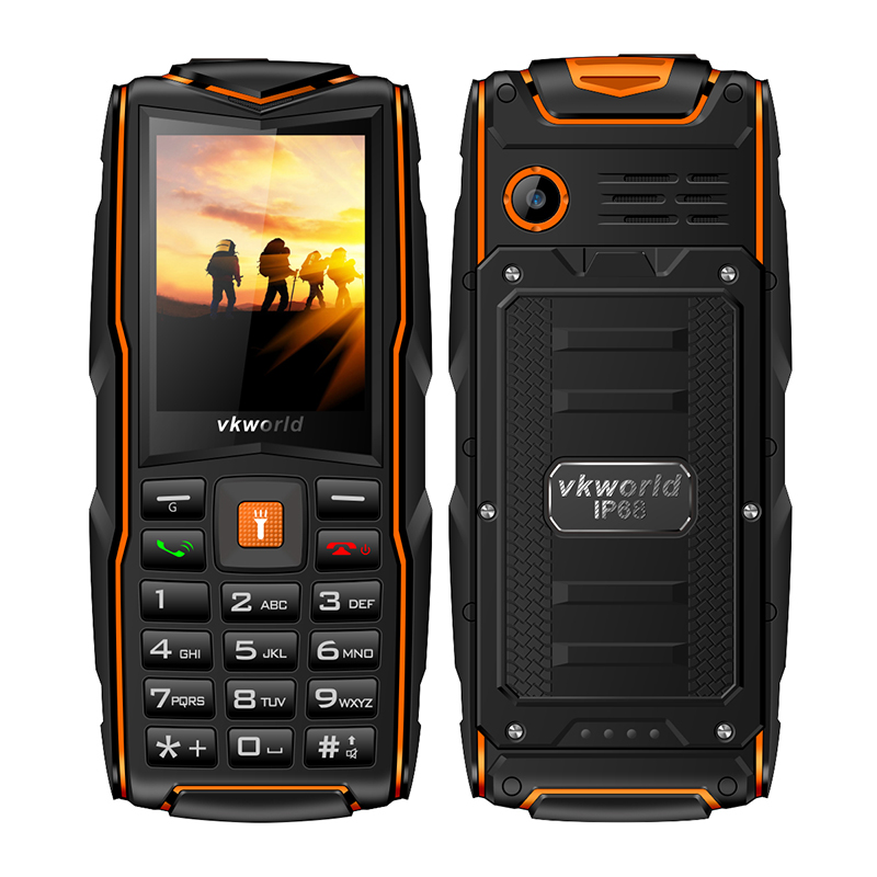 Orange 2.4 Inch Quad Band cell phone
