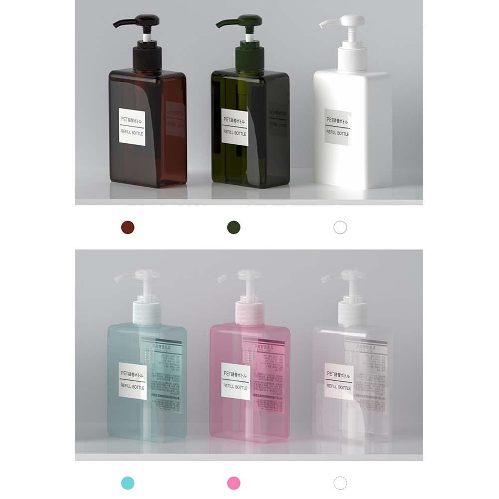 150ml Makeup Travel Bottle Lotion Storage Box for Shower Gel Shampoo Liquid Soap