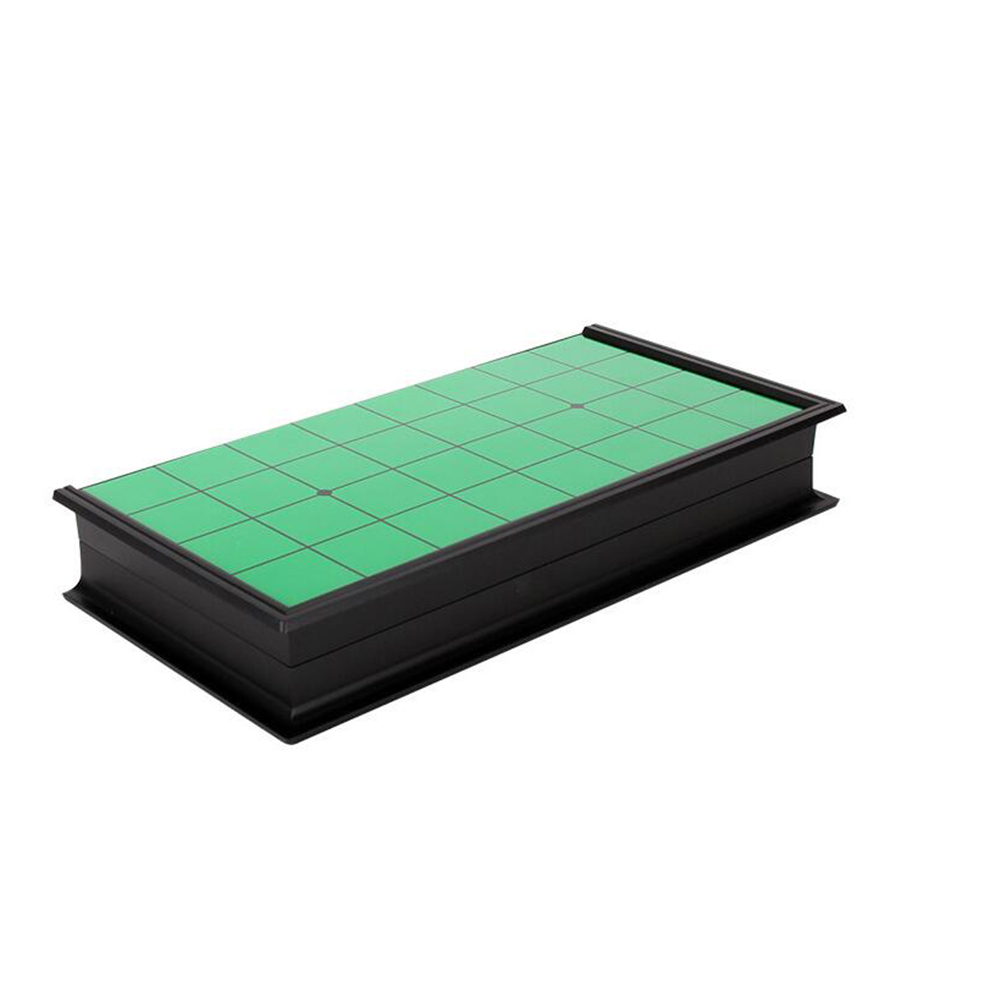 Magnetic Gobang Folding Flip Black White Board Games Educational Toys As shown