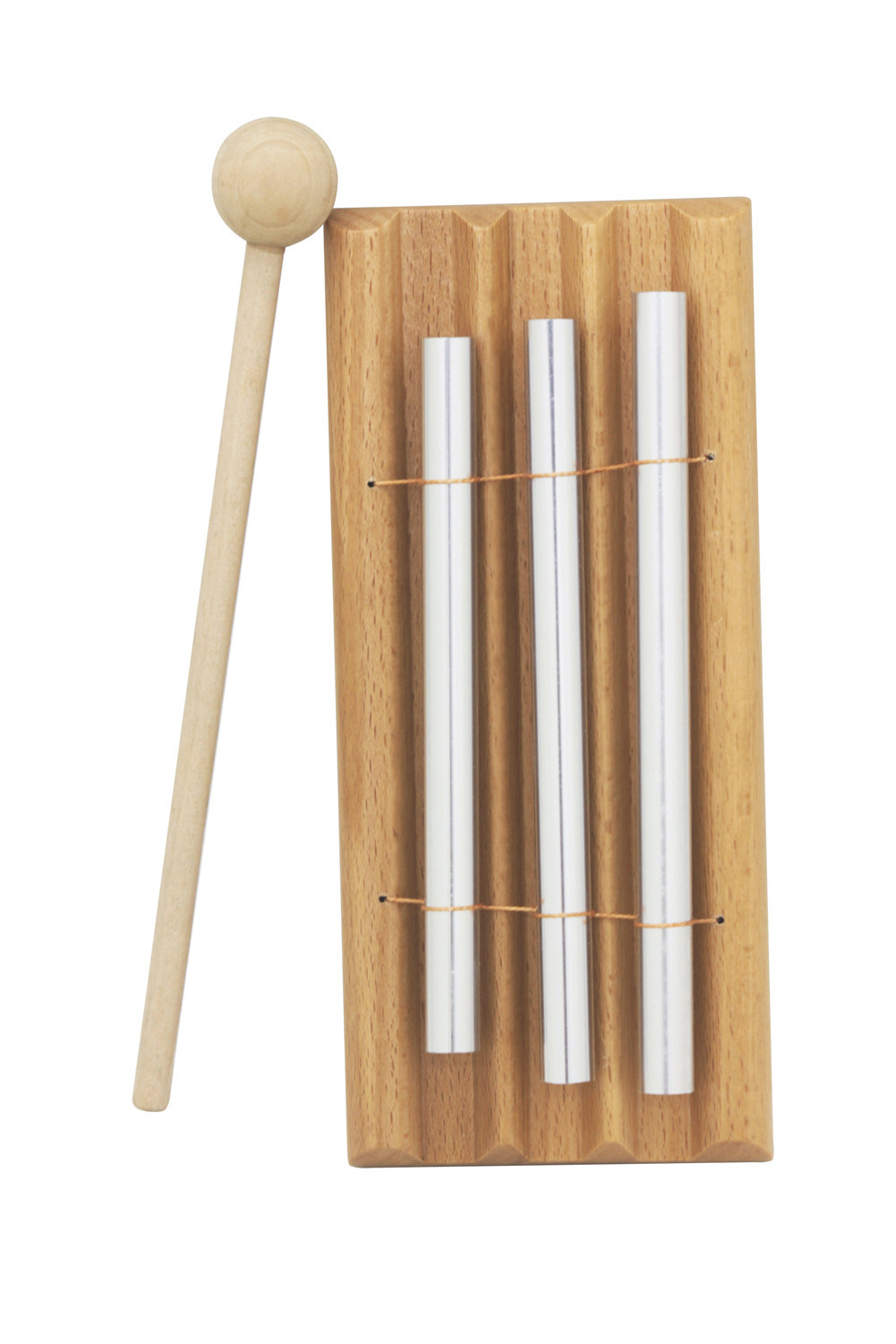 Energy Chime Three Tone with Mallet Exquisite Music Toy Percussion Instrument Three-tone
