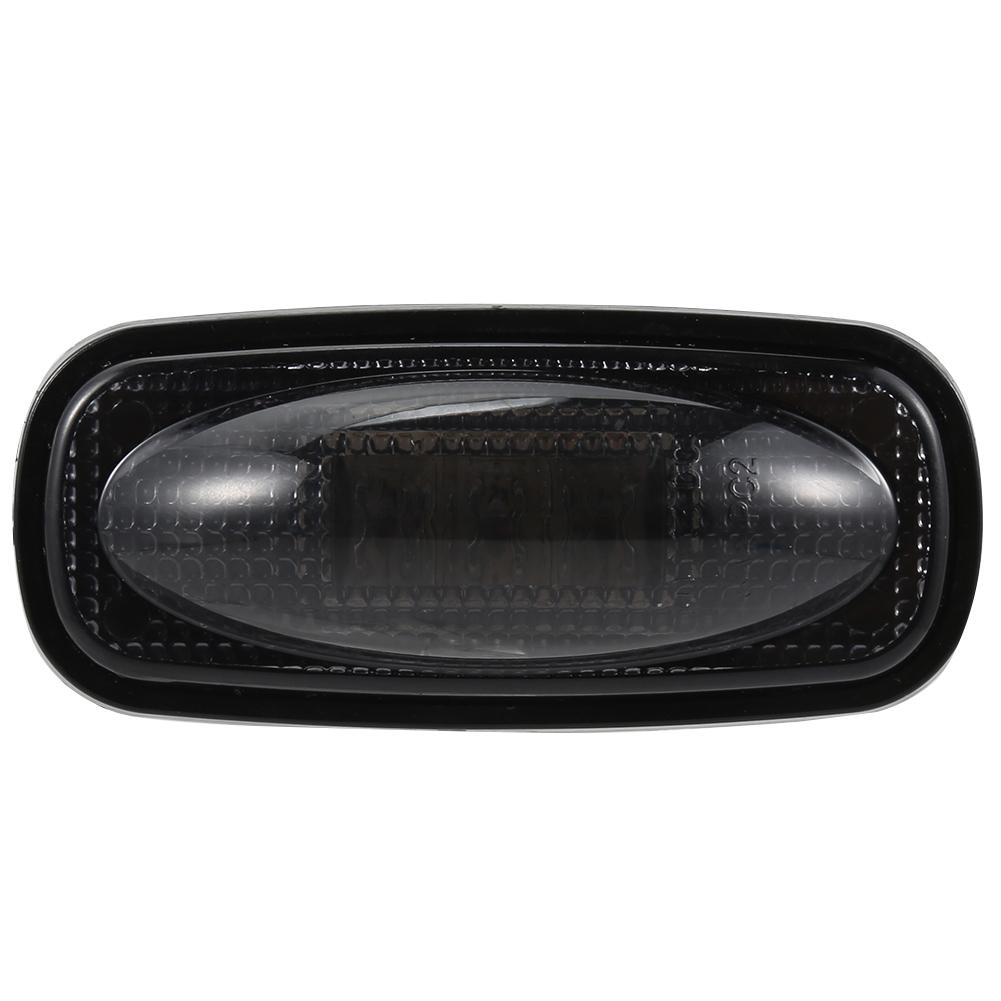 [US Direct] LED Side Fender Marker Light Set for Dodge RAM 2500 3500 HD Truck Amber