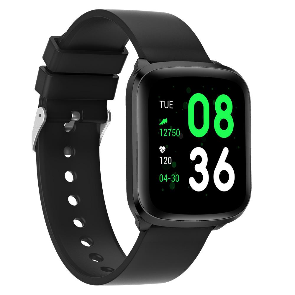 Smart Touch Kw03 Smart Watch Universal System Fitness Pedometer Sleep Tracker Unisex Ip68 Waterproof black