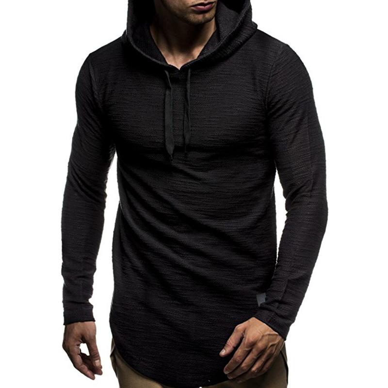 Men Hoodie Warm Casual Hooded Sweatshirt Pullover Coat Top Outwear