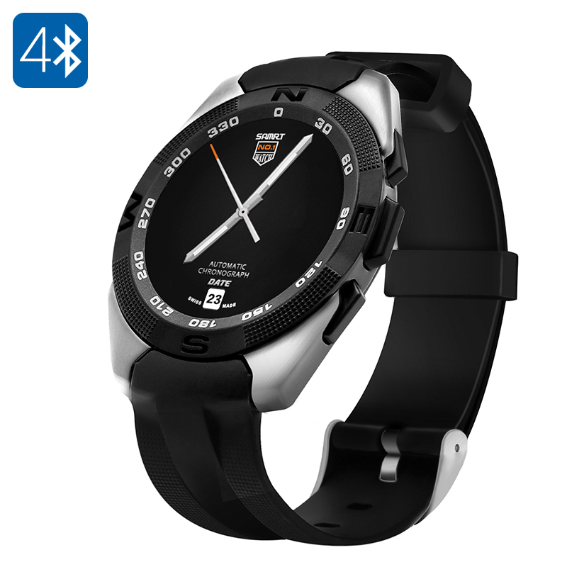 NO.1 G5 Smart Watch (Silver)