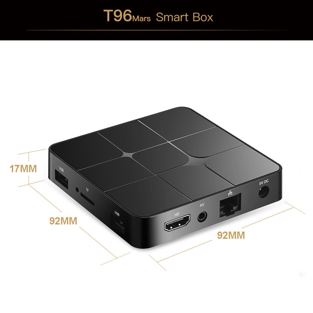 T96 mars Smart Android TV Box AU Plug