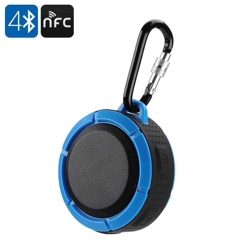 IWO F1Mini IP67 Waterproof Speaker (Black)