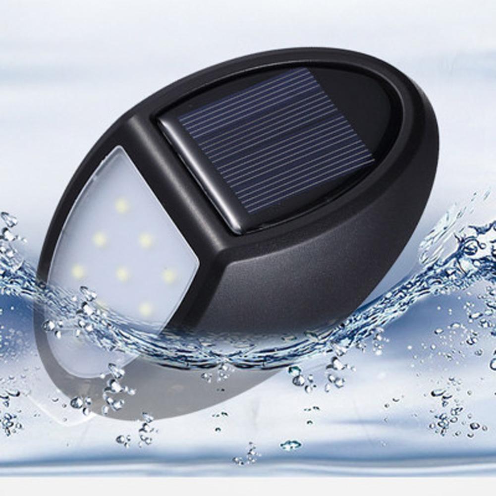 10 LEDs Outdoor Solar Wall Lamp Waterproof Sensor Garden Light for Home Villa 10LED