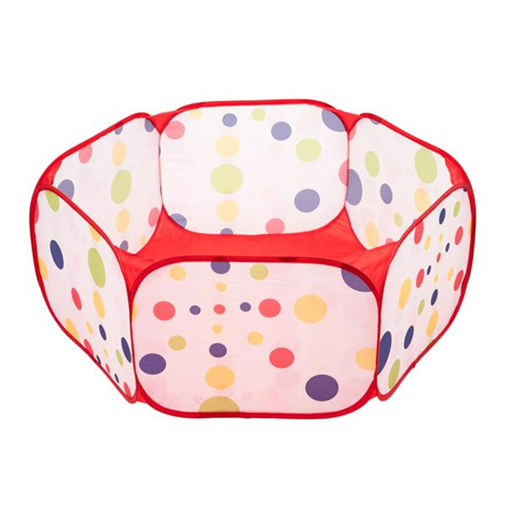 Diameter 1.2m Portable Kids Outdoor Game Tent Toy For Ocean Ball Pit Pool red