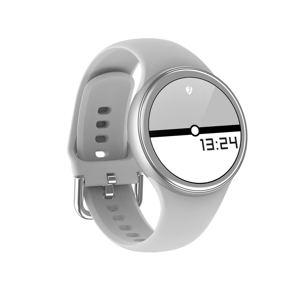 Women Bluetooth Call Smart Watch Heart Rate Blood Pressure Sports Fitness Tracker gray