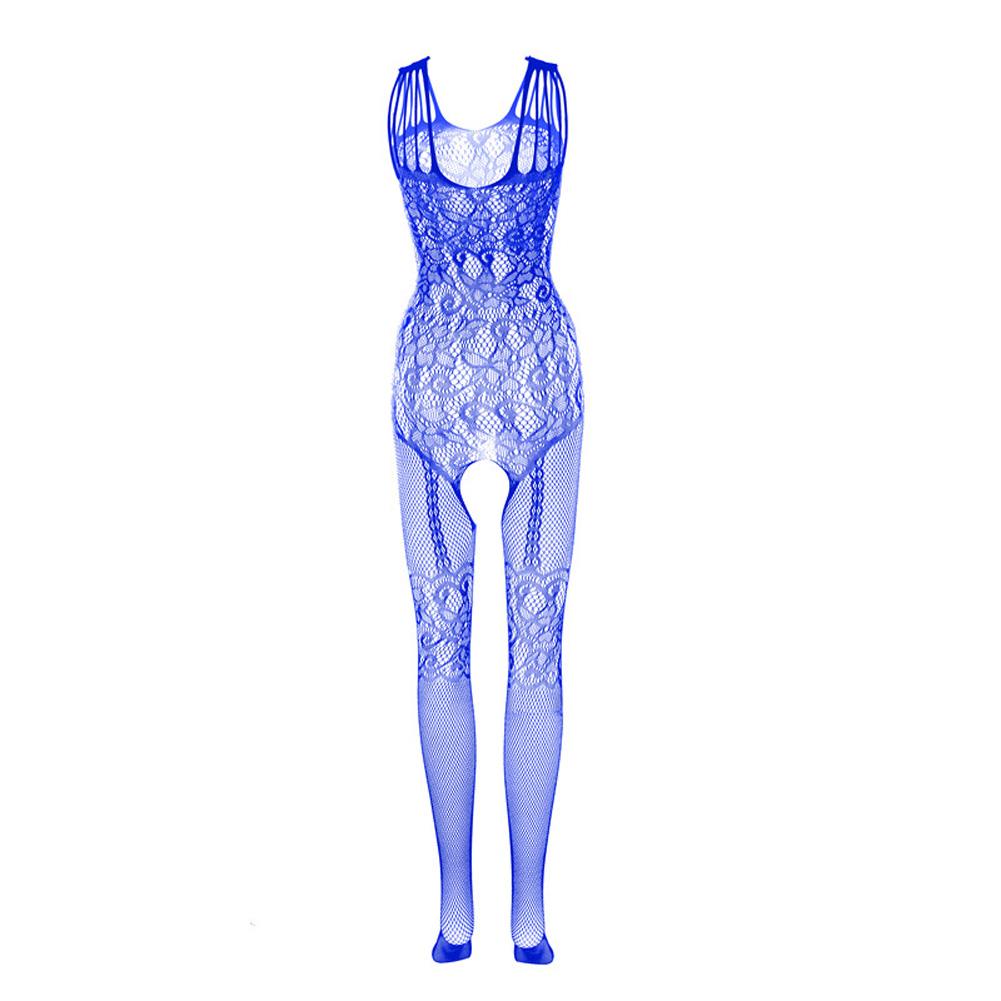 Sexy Costumes Bodysuit Stockings Sex Erotic Crotch Teddy Lingerie Feminine Porn E_One size