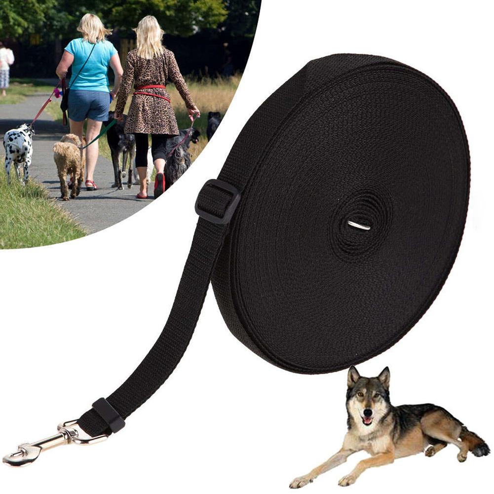 Adjustable Pet Training Leash for Outdoor Cat Dog Walking Control black_15m