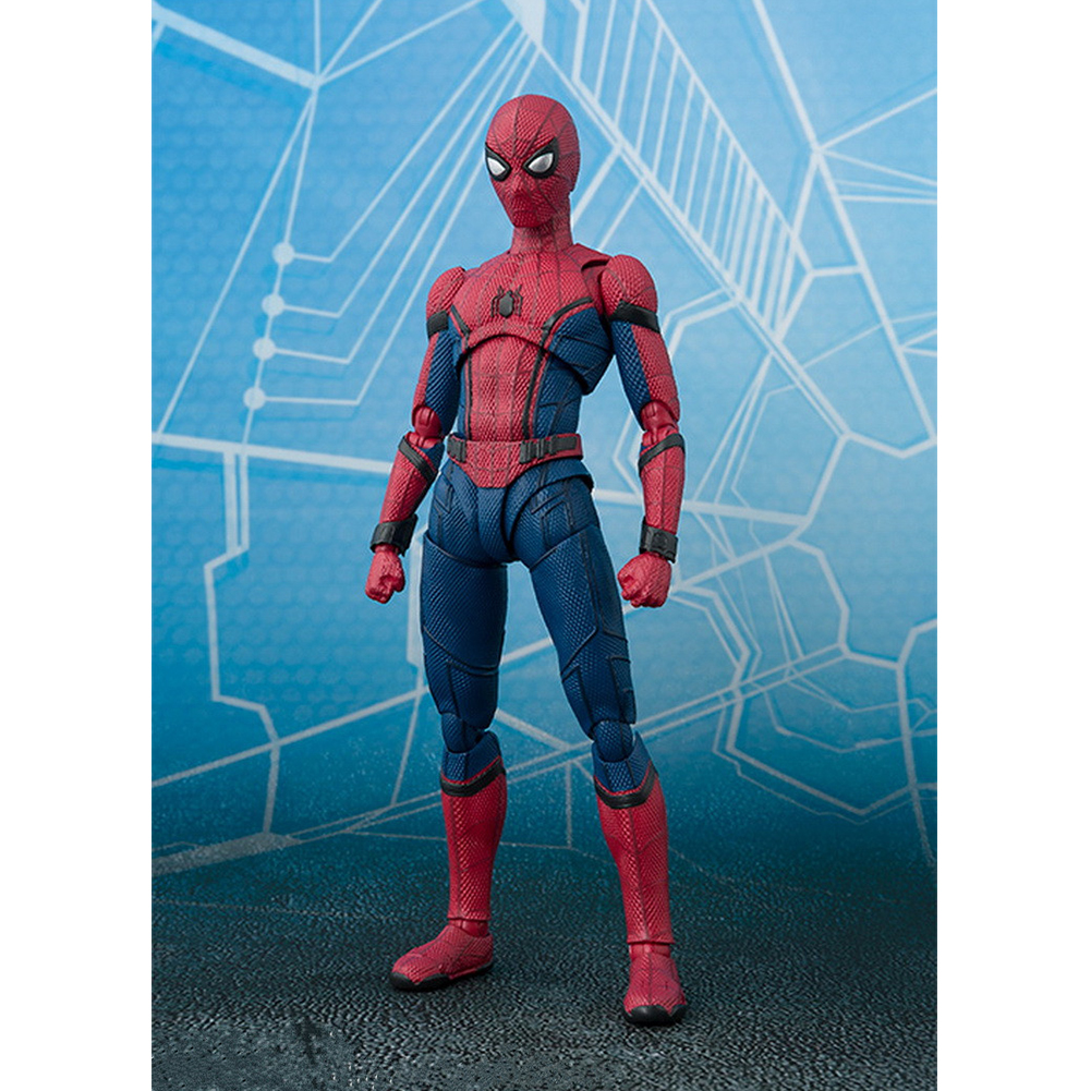 6inch Spider Man Movable Model Doll Marvel Comic Figure PVC Cool Collection Party Birthday Gift