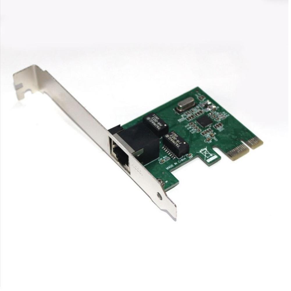 Gigabit Ethernet PCI-E Network Card RJ-45 LAN Adapter Converter Network Controller