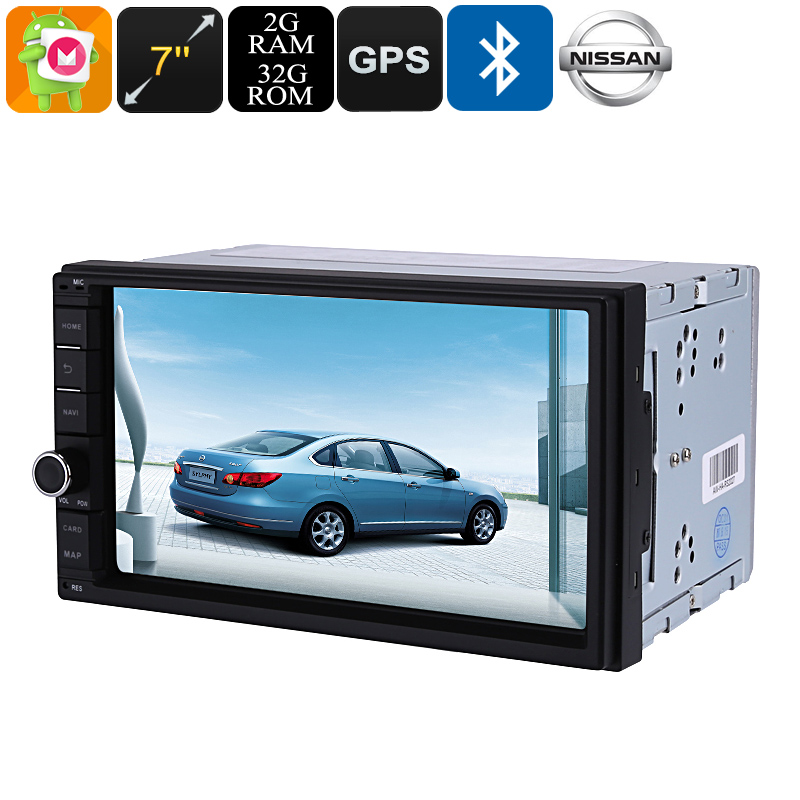 Din Android Car Media Player   Inch Display