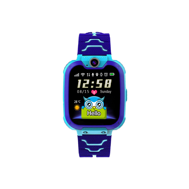 F2 Children Multifunctioanal  Watch Two-way Call Game Watch With Photograph Camera blue
