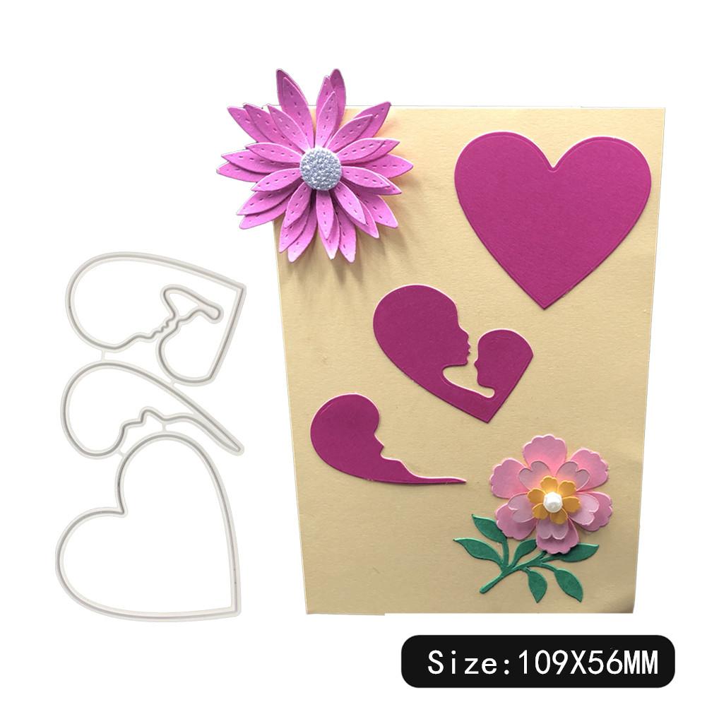Carbon Steel Cutting Dies for DIY Scrapbooking Album Paper Cards Decorative Crafts Envelope Lace / Invitation Lace 1805578