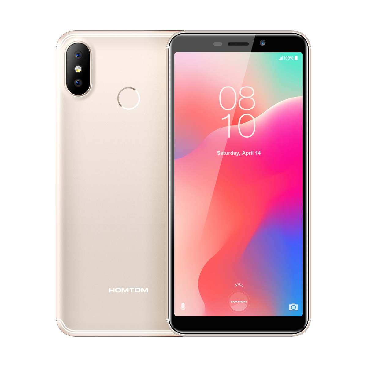 HOMTOM C1 1+16GB Mobile Phone Gold