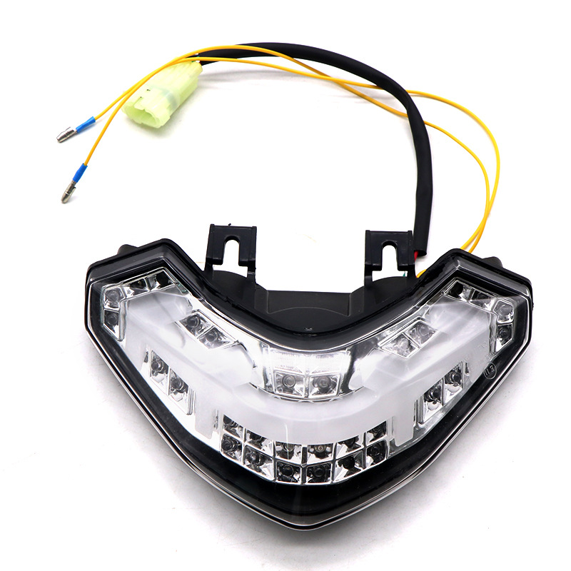 Motorcycle LED Turn Signal Tail Light Taillight For DUCATI Multistrada 1200  Transparent shell