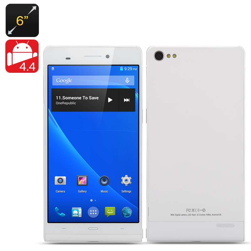 6 Inch Android 4.4 NFC Phone 'Gravity II'