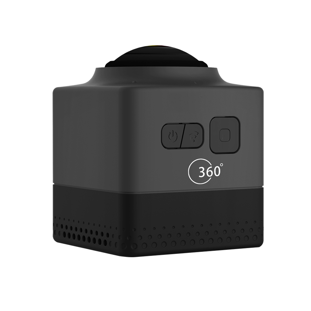 CUBE360 Outdoor WIFI Mini Sports Camera-Black