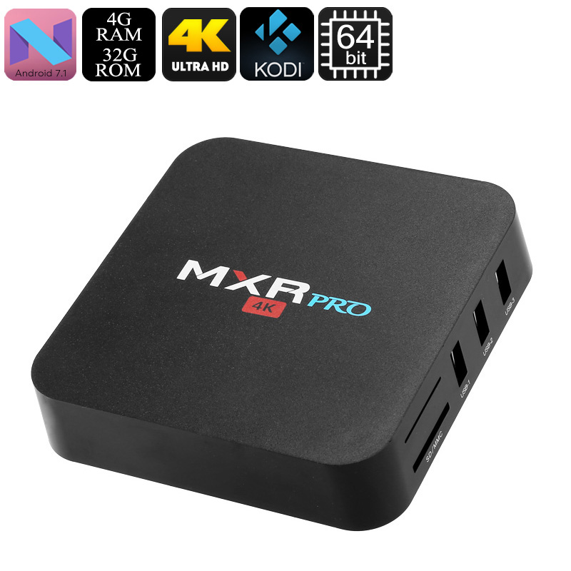MXR Pro Android TV Box